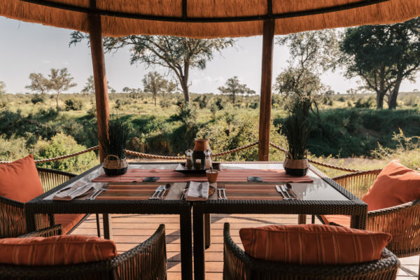 Small and intimate Hoyo Hoyo Safari Lodge hosts a maximum of twelve guests